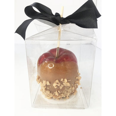 Let your audience view your gorgeous caramel/candy apples from 360 degrees using this clear acetate caramel apple box, showcase the precision and perfection of your art.