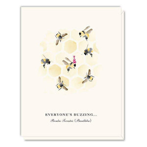 Card - Birthday Bees a Buzzing - Art Is In Cakes, Bakery & SupplyStationeryDefault Title