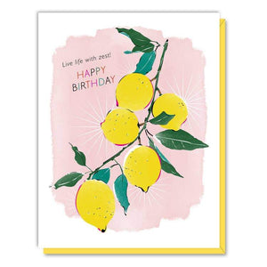 Card - Lemons Birthday Card - Art Is In Cakes, Bakery & SupplyStationeryDefault Title