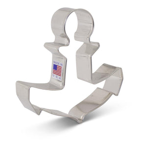 Cookie Cutter Anchor 4.5 in x 4.5 in - Art Is In Cakes, Bakery & SupplyCookie CutterDefault Title
