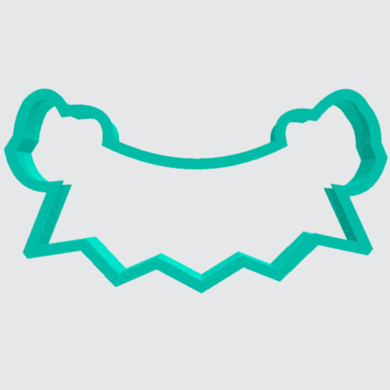 Cookie Cutter Banner with Bows - Art Is In Cakes, Bakery & SupplyCookie Cutter2in