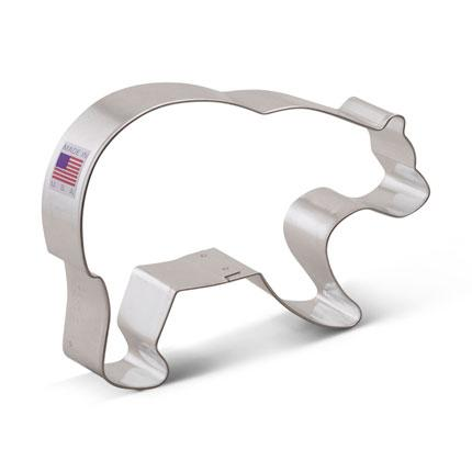 Cookie Cutter Bear Grizzly Bear 5 in - Art Is In Cakes, Bakery & SupplyCookie CutterDefault Title