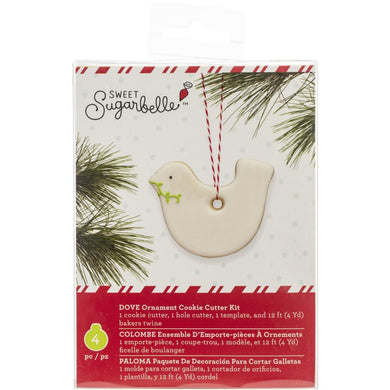 Cookie Cutter Christmas Dove That Can Hang From Your Tree - Art Is In Cakes, Bakery & SupplyCookie CutterDefault Title