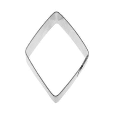 Cookie Cutter Diamond 3 1/4 in - Art Is In Cakes, Bakery & SupplyCookie Cutter3.25in