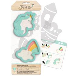 Cookie Cutter Enchanted Unicorn and Rainbow Set - Art Is In Cakes, Bakery & SupplyCookie CutterDefault Title