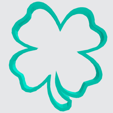 Cookie Cutter Four Leaf Clover - Art Is In Cakes, Bakery & SupplyCookie Cutter2in