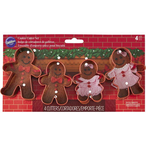 Cookie Cutter Gingerbread Family Set of 4 - Art Is In Cakes, Bakery & SupplyCookie CutterDefault Title