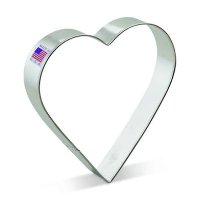 Cookie Cutter Heart Large and Straight 5 inches - Art Is In Cakes, Bakery & SupplyCookie CutterDefault Title