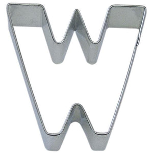 Cookie Cutter Letter W 3 in - Art Is In Cakes, Bakery & SupplyCookie CutterSquared edges