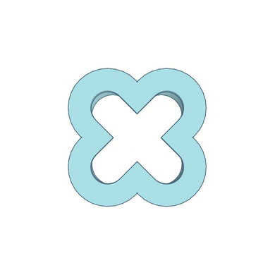 Cookie Cutter Letter X Tiny 1in - Art Is In Cakes, Bakery & SupplyCookie Cutter1in
