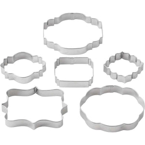 Cookie Cutter Plaque or Frame 6pc Set - Art Is In Cakes, Bakery & SupplyCookie CutterDefault Title