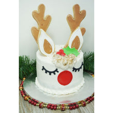 Includes Antler, Holly, Nose/Eye, Ear, Inner Ear, and a mini reindeer cutter.