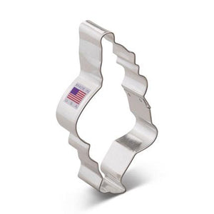Cookie Cutter Santa 4 1/2 in - Art Is In Cakes, Bakery & SupplyCookie CutterDefault Title