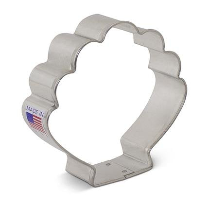 Cookie Cutter Sea Shell 3 1/4 in - Art Is In Cakes, Bakery & SupplyCookie CutterDefault Title