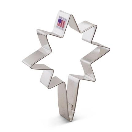 Cookie Cutter Star Bethlehem Star 5 in - Art Is In Cakes, Bakery & SupplyCookie CutterDefault Title
