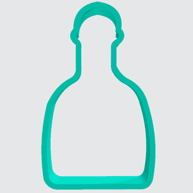 Cookie Cutter Tequila Bottle - Art Is In Cakes, Bakery & SupplyCookie Cutter2in