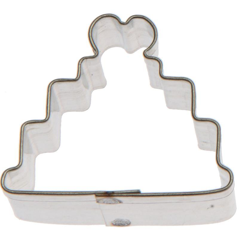 Cookie Cutter Wedding Cake Mini 1 1/2 in - Art Is In Cakes, Bakery & SupplyCookie CutterDefault Title