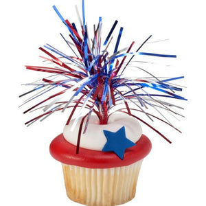 Cupcake Picks Mylar Foil Sprays Various Colors - Art Is In Cakes, Bakery & SupplyCupcake PicksGold Mylar Spray