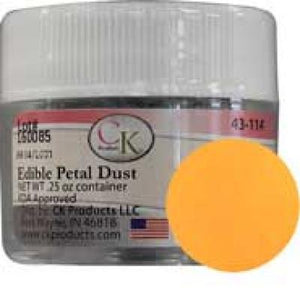 Edible Petal Dust, Mango, For Coloring Gum paste and Fondant Decorations - Art Is In Cakes, Bakery & SupplyLuster DustsDefault Title