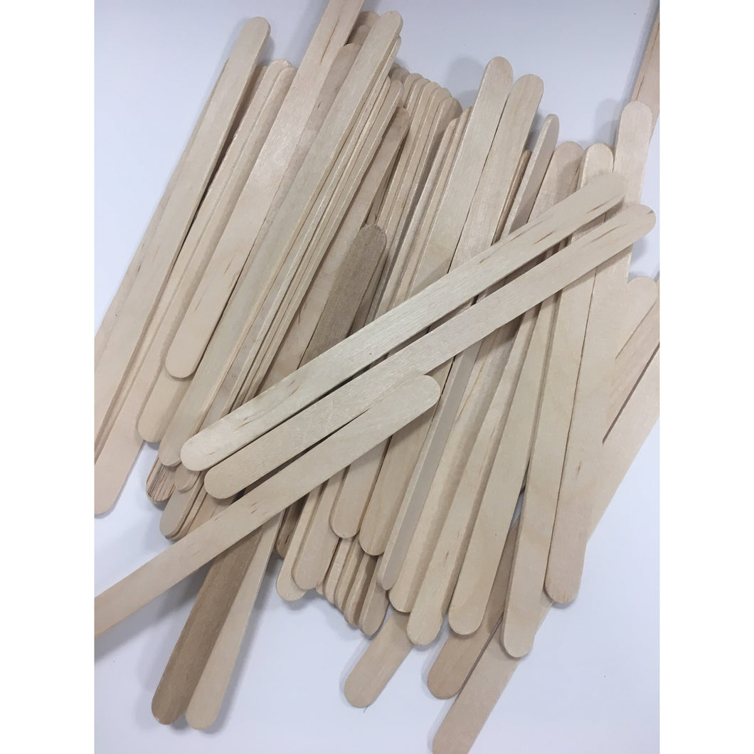 Flat Popsickle Petite Sticks 50ct for Candies, Cake Pops, and Popsickle Treats - Art Is In Cakes, Bakery & SupplyChocolate and Candy MakingDefault Title
