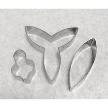 Flower Cutter Dendrobium Orchid, 3pc Set - Art Is In Cakes, Bakery & SupplyFlower making toolsDefault Title