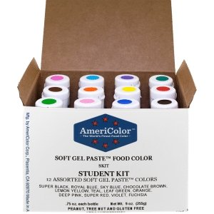 Food Color Student Kit Soft Gel™ Paste by Americolor - Art Is In Cakes, Bakery & SupplyFood colorDefault Title