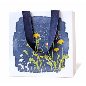 Gift Bag Navy Dandelions - Art Is In Cakes, Bakery & SupplyStationeryDefault Title