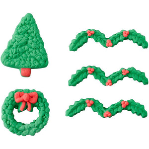 Gingerbread Candy Decorations Tree, Wreath and Garland - Art Is In Cakes, Bakery & SupplySprinklesDefault Title