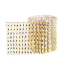 Glam Ribbon Rhinestone Wrap Cake Bling by the Yard Gold or Silver - Art Is In Cakes, Bakery & SupplyRibbonsSilver