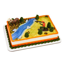 "Great Outdoors Deer Hunting Themed Decoset® for 1/4 Sheet Cake or 8"" Round Cake - Art Is In Cakes, Bakery & SupplyThemed CakesDecoSet®"