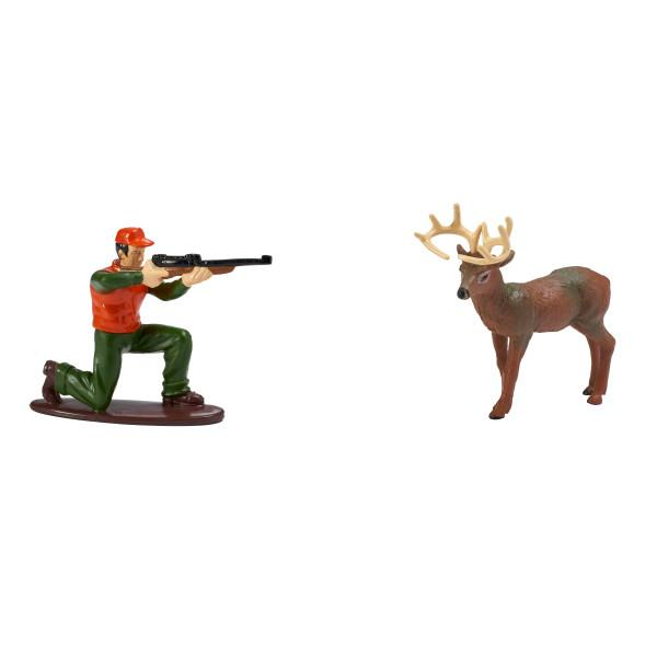 Great Outdoors Deer Hunting Themed Decoset® for 1/4 Sheet Cake or 8