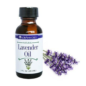 LorAnn Natural Oils and Super Strength Flavors in 1 oz bottles - Art Is In Cakes, Bakery & SupplyFlavorLavender Oil