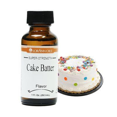 LorAnn Natural Oils and Super Strength Flavors in 4 oz bottles - Art Is In Cakes, Bakery & SupplyFlavorCake Batter