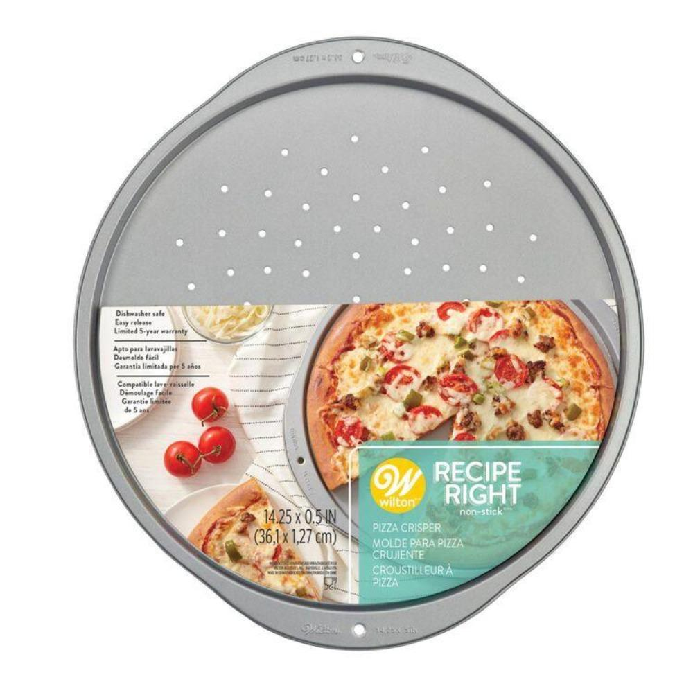 Pan Pizza Crisper or Bread Tin Recipe Right Non-Stick, 14-Inch - Art Is In Cakes, Bakery & SupplyBakeware & PansDefault Title