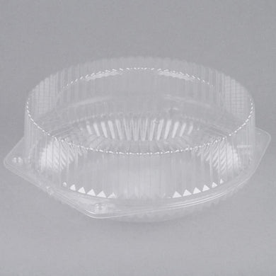 Pie Holder Hinged Clear Container Extra Deep for 9