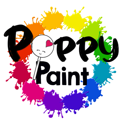 Poppy Paints, Super Shine, 1 ounce bottles - Art Is In Cakes, Bakery & SupplyFood colorDefault Title