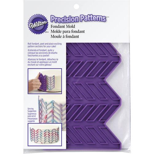 PRECISION PATTERNS HERRINGBONE FONDANT MOLD - Art Is In Cakes, Bakery & SupplyMolds & Impression MatsDefault Title