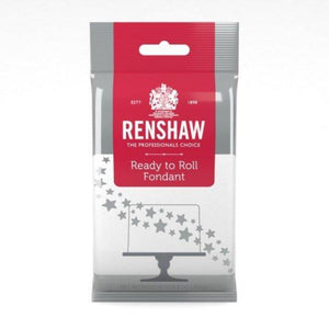 Renshaw 8.8 Ounces Ready to Roll Fondant - Art Is In Cakes, Bakery & SupplyFondant & IcingsWhite