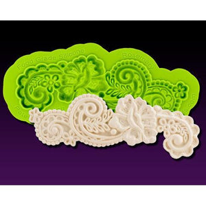 Rose Mary Lace Mold - Art Is In Cakes, Bakery & SupplyMolds & Impression MatsDefault Title