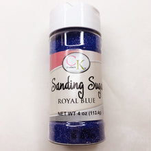 Sanding Sugar in Royal Blue 4oz Perfect For Decorating Cakes, Cookies, Candies And All Other Baked Goods - Art Is In Cakes, Bakery & SupplySprinklesDefault Title