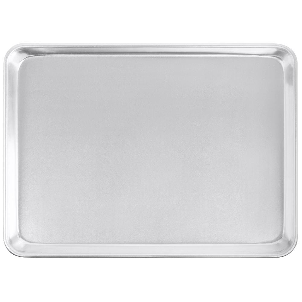 Sheet Pans - Rectangular Shallow Sheet Pan or Bun Pan, 19 guage Aluminum - Art Is In Cakes, Bakery & SupplyBakeware & PansHalf Sheet 19.25