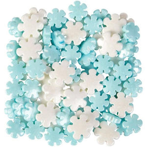 Sprinkle Mix Blue and White Snowflakes - Art Is In Cakes, Bakery & SupplySprinklesDefault Title