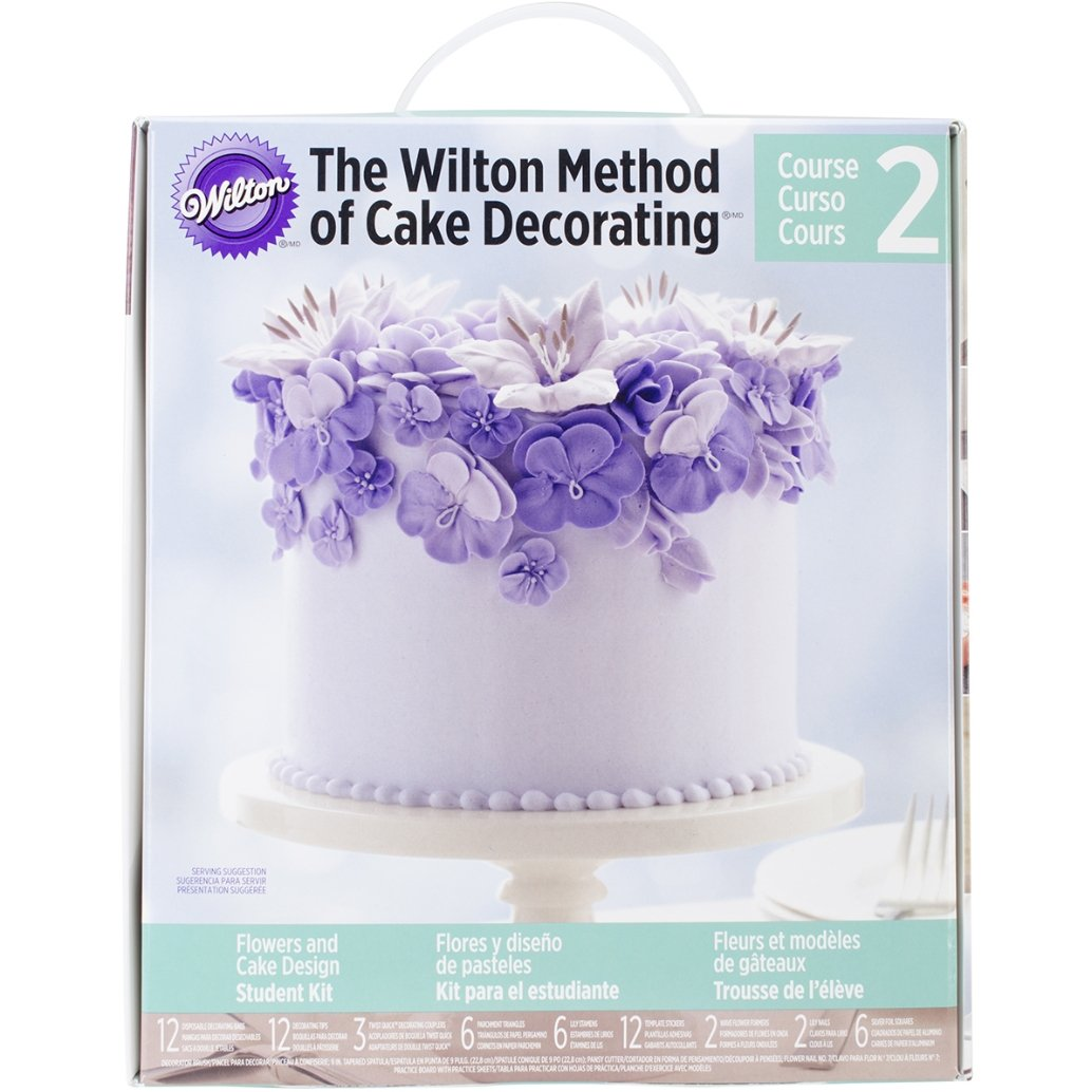 The WIlton Method of Cake Decorating™ Course 2 Flowers and Cake Design Kit - Art Is In Cakes, Bakery & SupplyCake Decorating ToolsDefault Title
