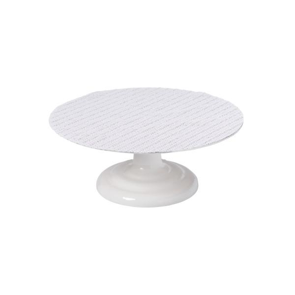 Turntable, Professional Revolving Heavy Duty Aluminum Cake Stand with Cast Iron Base - Art Is In Cakes, Bakery & SupplyturntableDefault Title