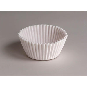 White Standard Cupcake Baking Cup Liner, 500 Pack, Grease Resistant Finish, White - Art Is In Cakes, Bakery & SupplyCupcake LinersDefault Title