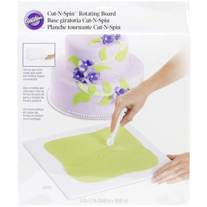 Wilton® Cut-N-Spin™ Rotating Board For Fondant and Gum Paste - Art Is In Cakes, Bakery & SupplyCake Decorating ToolsDefault Title