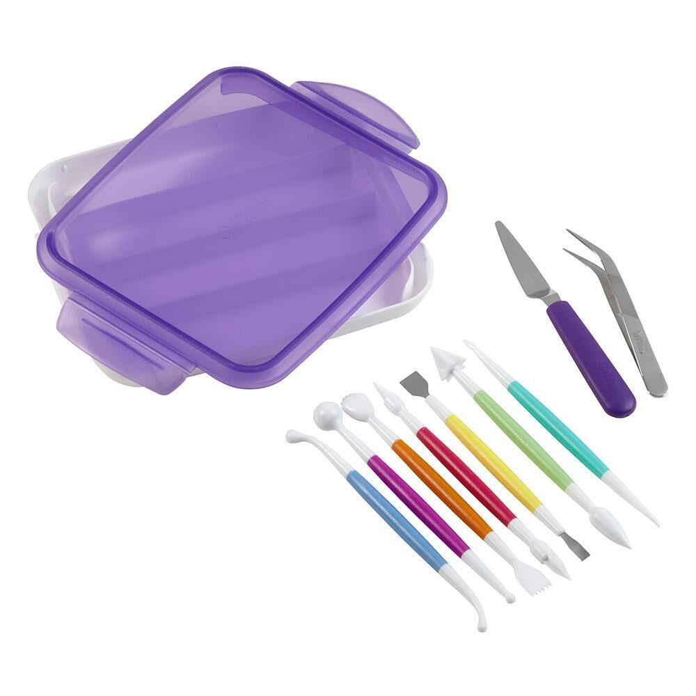 Wilton® Fondant and Gum Paste 9 Piece Tool Set - Art Is In Cakes, Bakery & SupplyCake Decorating ToolsDefault Title
