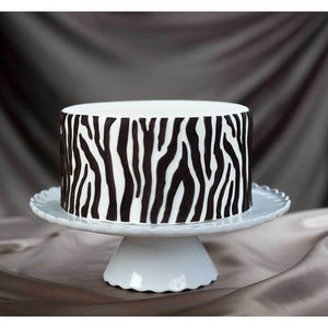 Zebra Silicone Onlay ® - Art Is In Cakes, Bakery & SupplyMolds & Impression MatsDefault Title