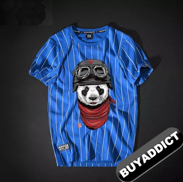 PANDA Printing T Shirts Youth BAPE FashionTop Quality