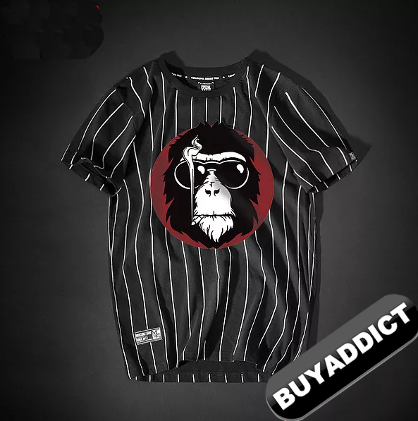 Monkey Printing T Shirts Youth BAPE Fashion Top Quality
